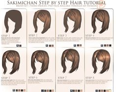 [Tutorial] SakimiChan's Hair Drawing Tutorial (from Patreon) Photoshop For Photographers, Photoshop Tips, Photoshop Photography, Photoshop Tutorial, Digital Painting Tutorials, Digital Art Tutorial, Art Tutorials, Drawing Tutorials, Sakimichan Tutorial