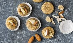 No-Bake Ginger Cookies (Ingwer-Guetzli) - Rezepte - Schweizer Milch Biscuits, Muffin, Sweets, Breakfast, Food, Milk, Raisin, Oatmeal, Almonds