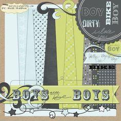 Free Boys. Mud. Dirt. Bike Digital Kit