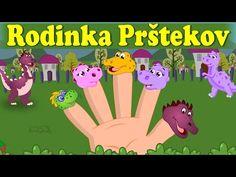 Rodinka Prštekov Finger Family in Slovak Finger Family, Youtube, Tela, Youtubers, Youtube Movies