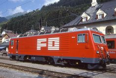 HGe 4/4 II 108 (Foto: Manfred Möldner) Swiss Railways, Bbc, Train, Photos, Locomotive, Zug, Strollers