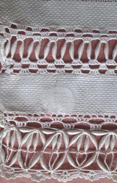 """Antique Coronation Cord Trimmed Linen Towel 29x20"""" w Monogr D Excellent Cond   eBay"""