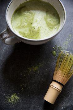 Matcha green tea latte!!