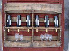 Wine rack pallet