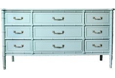 I own this dresser in the original finish antique white!  I think it is calling for some chalk paint!
