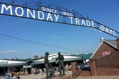 Canton TX ...First Monday Trade Days Flea Market ...need more than a day to see this place ...largest & oldest market in US
