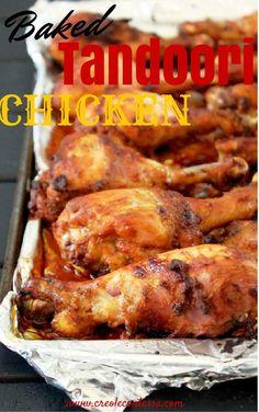 Baked Tandoori Chicken-Creole Contessa