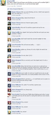 Fairy Tail facebook