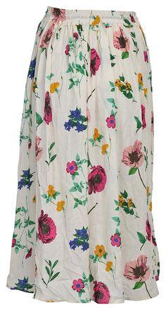 Maxi Dresses – Soft Cotton Skirts Wedding Dress Boho Skits Dress – a unique product by IndianCraftPalace on DaWanda