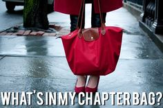 WHAT'S IN MY CHAPTER BAG? | Your Sorority Sister
