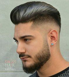 Haircut by swisshairbyzainal http://ift.tt/1rSu3LS #menshair #menshairstyles #menshaircuts #hairstylesformen #coolhaircuts #coolhairstyles #haircuts #hairstyles #barbers