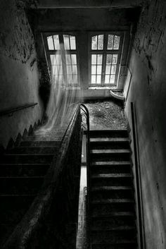 Ghostly lady apparition
