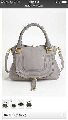 Beautiful Chloe bag, a must have!