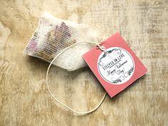 DIY Wildcrafted Herbal Teabags (No Sew)