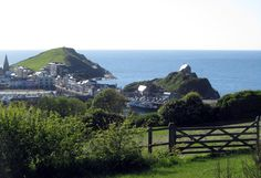 Ilfracombe on a sunny day in May