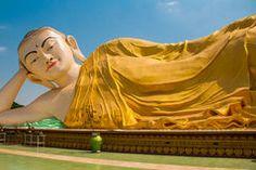 Image result for Reclining Buddha | Bago, Myanmar