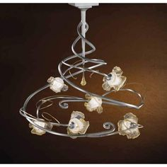 """Rose"" Chandeliers - Bellart http://www.astylishome.com/lighting/236-rose-chandeliers.html"