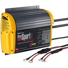 ProMariner ProSport 8 Gen 3 Heavy Duty Recreational Series On-Board Marine Battery Charger - 8 Amp - 2 Bank - https://www.boatpartsforless.com/shop/promariner-prosport-8-gen-3-heavy-duty-recreational-series-on-board-marine-battery-charger-8-amp-2-bank/