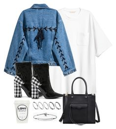 """""""Untitled #4445"""" by theeuropeancloset ❤ liked on Polyvore featuring H&M, Public Desire, Rebecca Minkoff, ASOS and MICHAEL Michael Kors"""