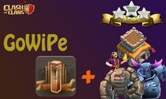 Clash Of Clans - How to Attack TH8 GoWiPe + EarthQuake