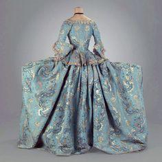 court dress 1760-70