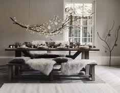 Hauska oksa ruokapöydän yllä. Myös leveän ikkunalaudan ylle?