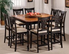 I want this for my dining room! A table for tall people!