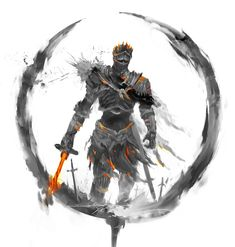 Soulstober: 30 Characters From The Darksouls Series That I Drew For Inktober Medieval Fantasy, Dark Fantasy, Guerrero Dragon, Arte Dark Souls, Soul Saga, Bloodborne Art, Soul Tattoo, Bild Tattoos, Cinder
