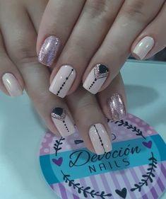 50 perfect pink and white nails for brides 22 Pink Nail Art, Pastel Nails, Stylish Nails, Trendy Nails, Art Deco Nails, Nail Art Designs Videos, Bride Nails, Pretty Nail Art, Best Acrylic Nails