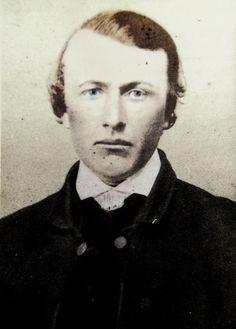 Bushranger Daniel Charters c1860 (member of the Gardner-Hall gang)
