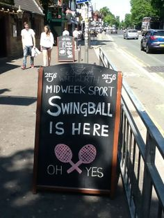 A #student night out that involves swingball. It can't go wrong.