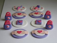 Doc McStuffins Inspired Fondant Cupcake Toppers by KimSeeEun, $22.95