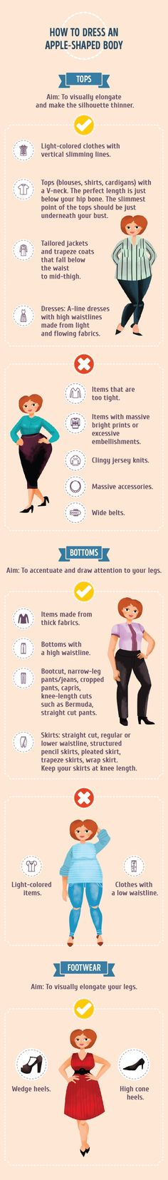 How to use clothes to accentuate your best features and hide…