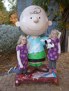 Charlie Brown at the Charles M. Schulz Museum
