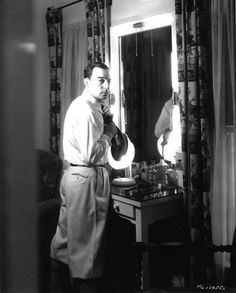 Buster Keaton photographed by George Hurrell.