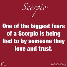 Scorpio fears