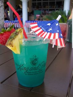 A specialty drink at The Ocean Terrace Grille -outdoor oceanfront dining on Saint Simons Island, GA Can't wait for our vacation!!!