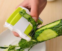 Multi-function Green Peeler Scalable Portable Two-way Rotating Fruit Vegetable Knife Cutting Shred Great Kitchen Tools Free Ship #Affiliate