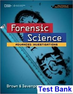 Leadership experience 7th edition daft test bank test bank test bank for forensic science advanced investigations copyright update 1st edition by brown ibsn 9781305120716 fandeluxe