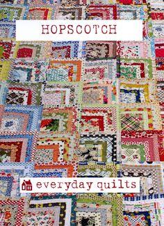 Hopscotch - Everyday Quilts - Sandra Boyle