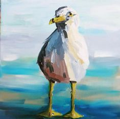 Bernard the Howth seagull Farm Art, Pet Birds, Dublin, Irish, My Arts, Ocean, Landscape, The Originals, Canvas