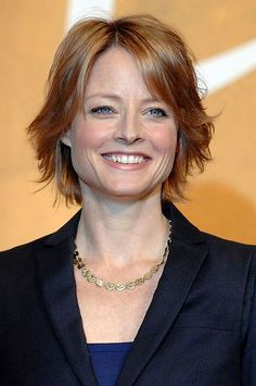 Jodie Foster--she's 50! I wanna look like her when I grow up!