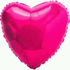 Balão Metalizado Coração Rosa