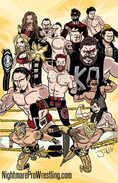 Art printed on x Heavy Card Stock. - wwe & wwf News Wrestling Posters, Wrestling Wwe, Balor Club, Eddie Guerrero, Catch, Nxt Takeover, Wrestling Superstars, Wwe World, Wwe Wallpapers