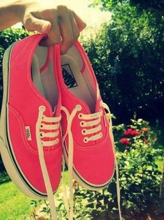 VANS...AND PINK TOGETHER!?!?!?   I LOVE IT this is way too much for me to handle!!!....okay Abby,breathe.