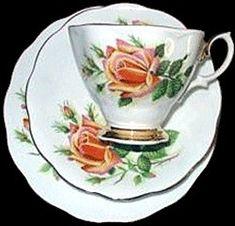 Royal Albert - Sweet Heart Roses Margaret  1950s to 1970s