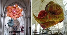 Giant paper sculptures