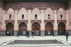 Ben Youssef Madrasa - stunning building in MARRAKECH // 48 HOUR TRAVEL GUIDE – The Layover Life