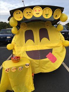 Trunk or treat- Emoji style