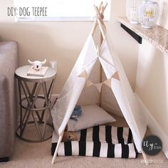 Doggy bed teepee - shhh....Lilys birthday is in a few weeks. I got her day off & she will be spoiled rotten ;)